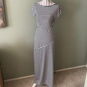 1 hr SALE - Arden B, sexy striped maci dress